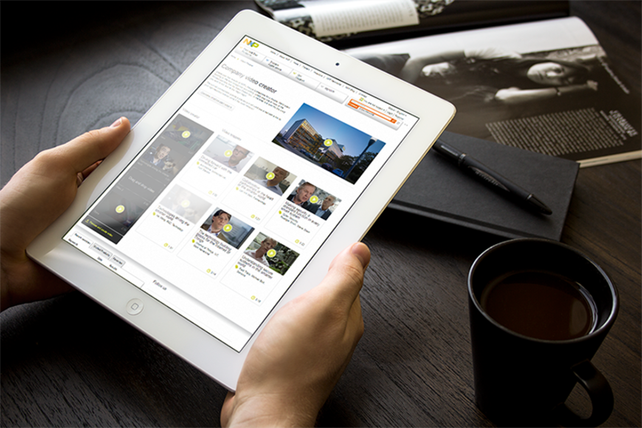 nxp digital video platform ipad