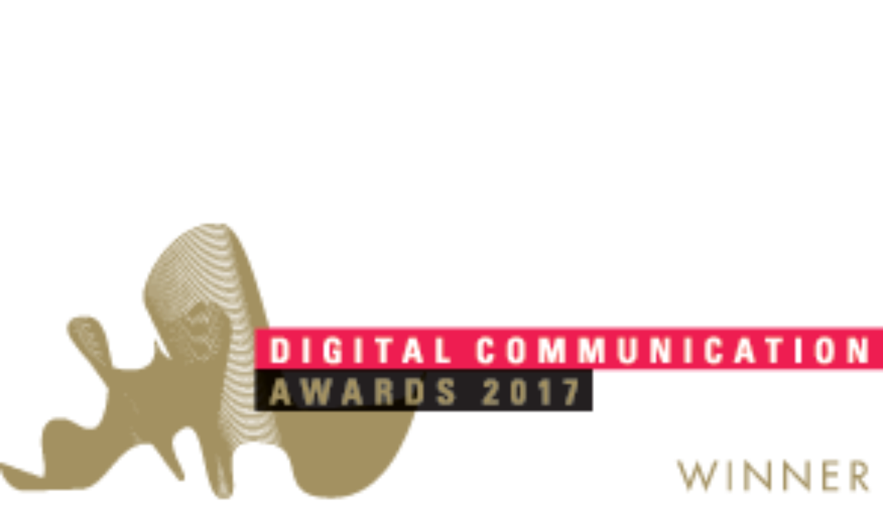 dca winner logo digital communication awards png
